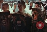 Image of worshipers at a chapel Nagasaki Japan, 1946, second 7 stock footage video 65675069727