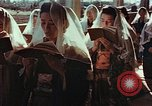 Image of worshipers at a chapel Nagasaki Japan, 1946, second 9 stock footage video 65675069727