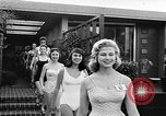 Image of girls model Los Angeles California USA, 1956, second 7 stock footage video 65675069738