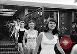 Image of girls model Los Angeles California USA, 1956, second 8 stock footage video 65675069738
