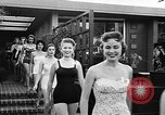 Image of girls model Los Angeles California USA, 1956, second 9 stock footage video 65675069738