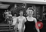 Image of girls model Los Angeles California USA, 1956, second 10 stock footage video 65675069738