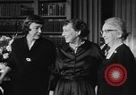 Image of Mamie Eisenhower Washington DC USA, 1956, second 4 stock footage video 65675069741