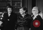 Image of Mamie Eisenhower Washington DC USA, 1956, second 5 stock footage video 65675069741