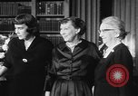 Image of Mamie Eisenhower Washington DC USA, 1956, second 7 stock footage video 65675069741