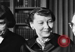 Image of Mamie Eisenhower Washington DC USA, 1956, second 8 stock footage video 65675069741