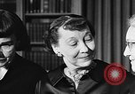 Image of Mamie Eisenhower Washington DC USA, 1956, second 9 stock footage video 65675069741