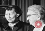 Image of Mamie Eisenhower Washington DC USA, 1956, second 10 stock footage video 65675069741