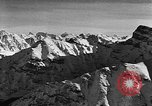 Image of avalanche on Canadian rockies Canada, 1956, second 10 stock footage video 65675069742