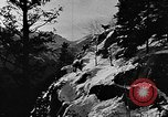 Image of avalanche on Canadian rockies Canada, 1956, second 11 stock footage video 65675069742
