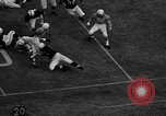 Image of American football match Tennessee United States USA, 1956, second 9 stock footage video 65675069751