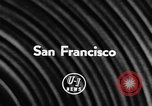 Image of James D Zellerbach San Francisco California USA, 1957, second 2 stock footage video 65675069756