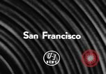 Image of James D Zellerbach San Francisco California USA, 1957, second 3 stock footage video 65675069756