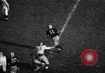 Image of American football match Iowa United States USA, 1956, second 8 stock footage video 65675069760