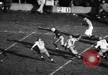 Image of American football match Iowa United States USA, 1956, second 12 stock footage video 65675069760