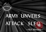 Image of attack sleds Italy, 1945, second 5 stock footage video 65675069768