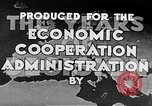 Image of Marshall Plan Europe, 1950, second 12 stock footage video 65675069769