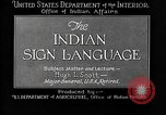 Image of Indian sign language United States USA, 1931, second 11 stock footage video 65675069787
