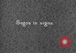 Image of Indian sign language Montana United States USA, 1931, second 4 stock footage video 65675069794