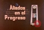 Image of Alliance of Progress Mexico, 1963, second 11 stock footage video 65675069808