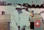 Image of Bell Rocketbelt flown by Bob Courter Mexico, 1963, second 9 stock footage video 65675069816
