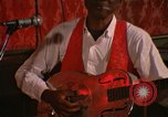 Image of Guitarist Jewell Stovall New Orleans Louisiana USA, 1965, second 11 stock footage video 65675069820