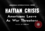 Image of Americans evacuate Port-Au-Prince Haiti, 1963, second 1 stock footage video 65675069825