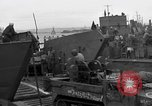Image of Loading Allied landing craft  for D-Day invasion of France England, 1944, second 12 stock footage video 65675069838