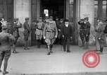 Image of John J Pershing Tours France, 1918, second 6 stock footage video 65675069851