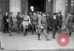 Image of John J Pershing Tours France, 1918, second 8 stock footage video 65675069851