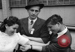 Image of Refugees arriving on SS Marine Flasher New York City USA, 1946, second 12 stock footage video 65675069856