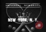 Image of Davis Cup New York United States USA, 1937, second 1 stock footage video 65675069862