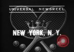 Image of Davis Cup New York United States USA, 1937, second 2 stock footage video 65675069862