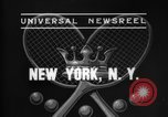 Image of Davis Cup New York United States USA, 1937, second 5 stock footage video 65675069862