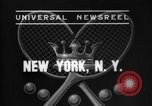 Image of Davis Cup New York United States USA, 1937, second 6 stock footage video 65675069862