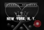 Image of Davis Cup New York United States USA, 1937, second 7 stock footage video 65675069862