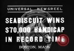 Image of Seabiscuit Boston Massachusetts USA, 1937, second 5 stock footage video 65675069868