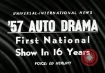 Image of 1956 National Automobile Show New York United States USA, 1956, second 2 stock footage video 65675069880