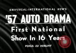 Image of 1956 National Automobile Show New York United States USA, 1956, second 3 stock footage video 65675069880