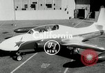Image of Lockheed jet trainer California United States USA, 1954, second 3 stock footage video 65675069888
