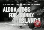 Image of American models Hawaii USA, 1954, second 4 stock footage video 65675069891