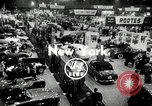 Image of Mercedes 300SL and the International Motor Sports Show New York United States USA, 1954, second 1 stock footage video 65675069893