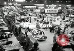Image of Mercedes 300SL and the International Motor Sports Show New York United States USA, 1954, second 2 stock footage video 65675069893