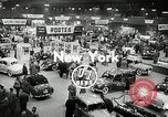 Image of Mercedes 300SL and the International Motor Sports Show New York United States USA, 1954, second 4 stock footage video 65675069893