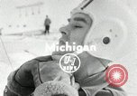 Image of Ice boat race Michigan United States USA, 1954, second 1 stock footage video 65675069894
