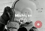 Image of Ice boat race Michigan United States USA, 1954, second 2 stock footage video 65675069894