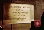 Image of SS Hannibal Victory San Francisco California USA, 1946, second 11 stock footage video 65675069915
