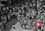 Image of Festival parade Taiwan, 1940, second 4 stock footage video 65675069923
