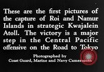 Image of Battle of Kwajalein Kwajalein Island Marshall Islands, 1944, second 12 stock footage video 65675069934