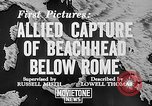 Image of German dive bombers attack amphibious task force Italy, 1944, second 4 stock footage video 65675069935